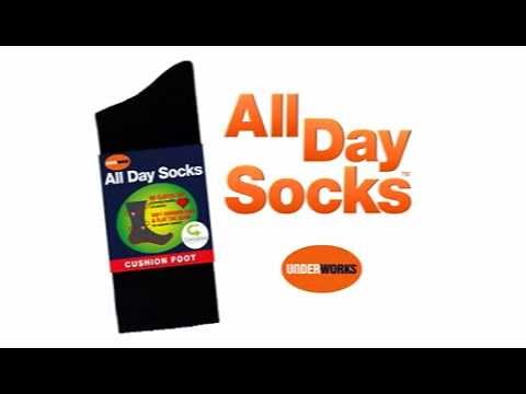 All Day Socks Ad