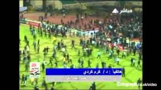 Egypt football violence leaves scores dead in Port Said