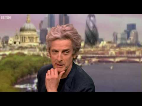 "Doctor Who - Peter Capaldi Interview ""The Andrew Marr Show"""
