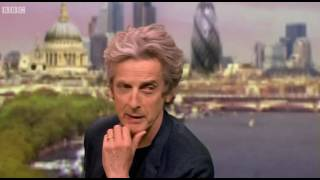 """Peter Capaldi Interview """"The Andrew Marr Show"""""""