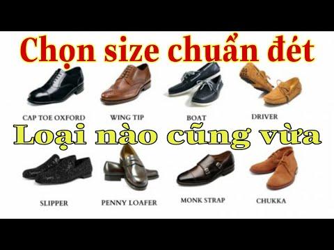 Cách đo chân và tính size các loại giày chuẩn như đặt - Tamtb