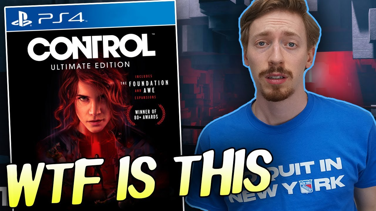 Control Ultimate Edition Is An Actual JOKE - YouTube