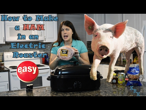 How long to cook fully cooked ham in roaster oven