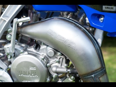 Boosting The Yamaha YZ125 Two-stroke: DEP Exhaust System Test