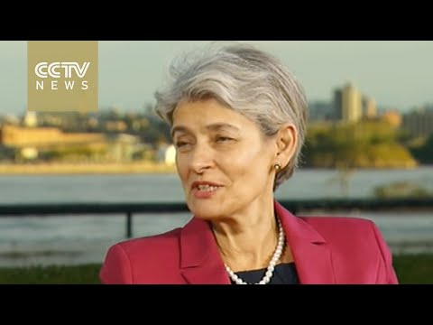 """UNESCO chief: Peng Liyuan meeting was """"important and moving"""""""
