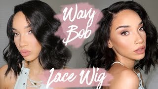 Messy Waves / Bob / Lob - Lace Wig | My Signature Style | RAVEN ELYSE