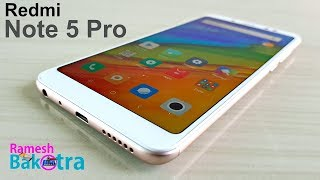 Redmi Note 5 Pro Unboxing and Full Review
