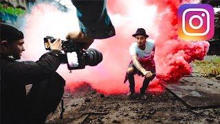 Rauchbomben in Lost Places - Instagram Mission