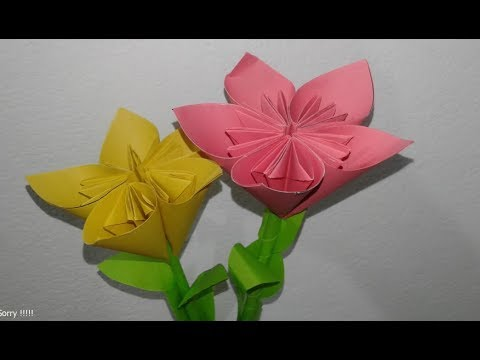 Easy and beautiful paper flower making |  DIY paper flower craft | diy Flower Making  |
