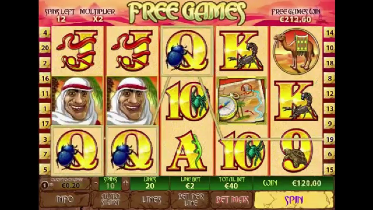 Desert Treasure II Slot Game Review.Video slot Desert Treasures is equipped with 5 reels and 20 active lines, it includes special symbols, prize game and several stages of bonus rotations.Size of bets per line makes from 0,05 to 0,50 coins, and maximum winnings reaches 10 coins.