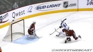 Rick Nash Amazing Goal vs Phoenix Coyotes 2008 - Full Sequence (NHL Classic)