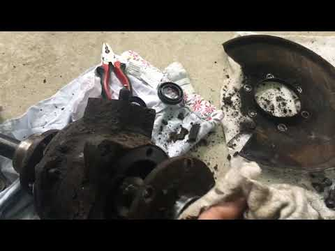 ремонт и обзор поворотного кулака УАЗ буханка