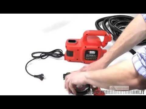 Електрически пистолет за боядисване BLACK+DECKER HVLP400 #iiYYPWiDL7k
