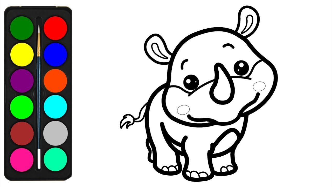 Rhino coloring pages | Free Coloring Pages | 720x1280
