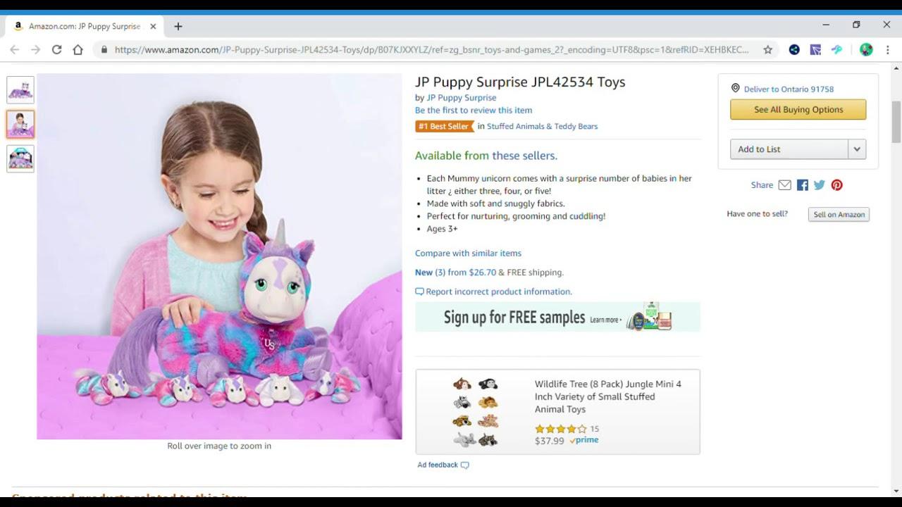 JP Puppy Surprise JPL42534 Toys