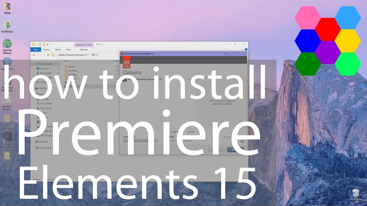 How To Install Adobe Premiere Elements 15