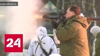 Росгвардейцы научили депутатов стрелять из гранатомета
