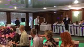 Белгород 15.07.2017 Супер песня для невесты от брата и мамы.
