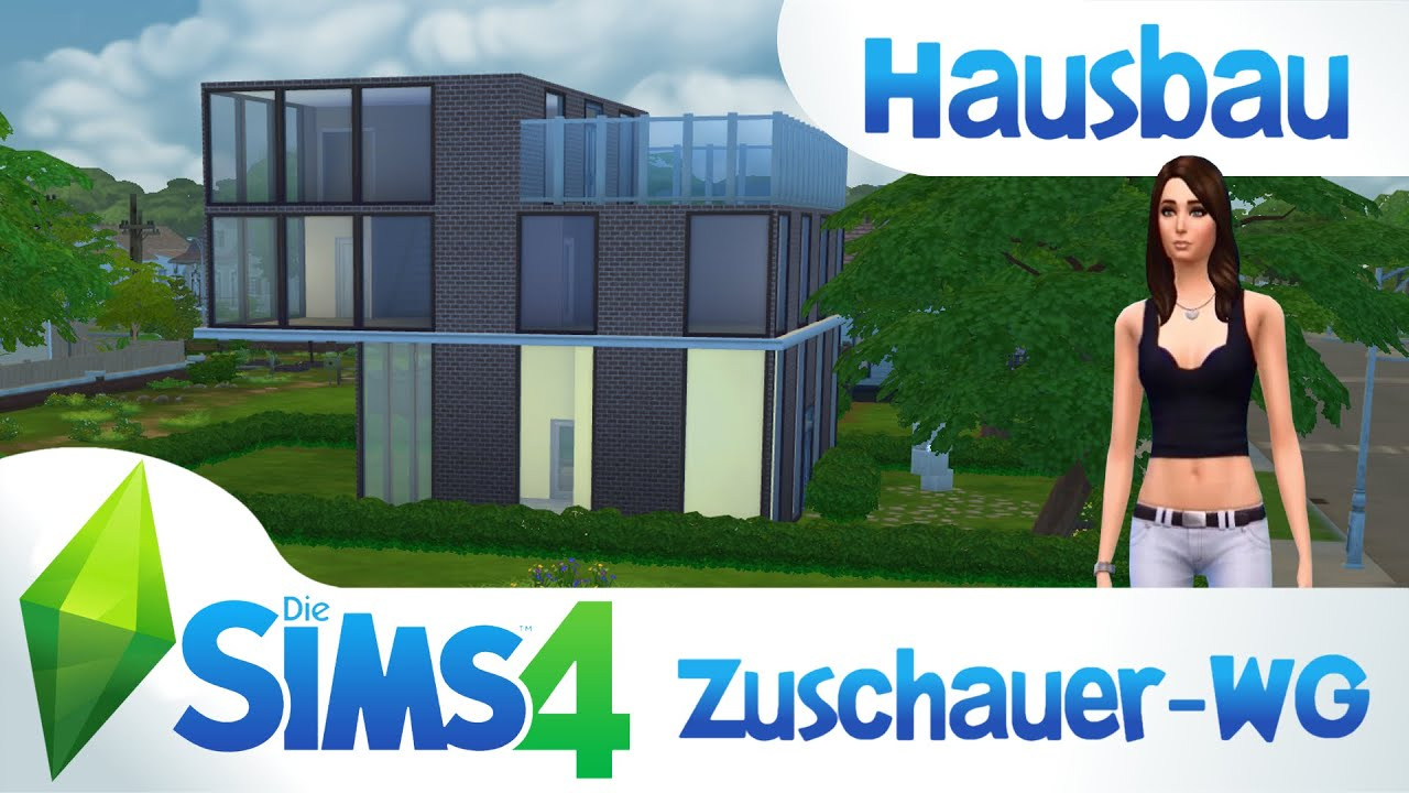 die sims 4 hausbau zuschauer wg german deutsch hd youtube. Black Bedroom Furniture Sets. Home Design Ideas