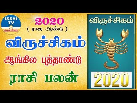 2020 NewYear Rasipalan viruchigam | 2020