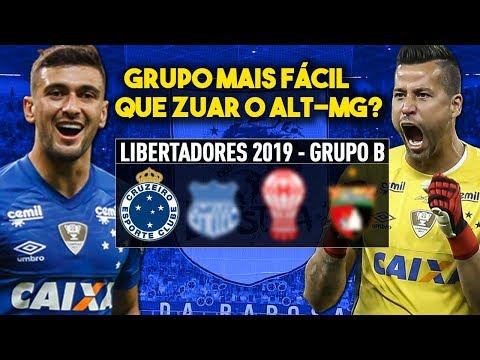 Análise do Grupo do CRUZEIRO na Libertadores 2019