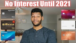 Credit Cards For Beginners || How to Pay No Interest Until 2021