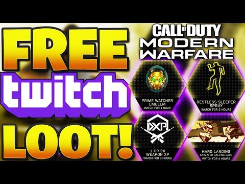 HOW TO LINK YOUR CALL OF DUTY And TWITCH ACCOUNT?/ HOW TO CLAIM FREE IN-GAME LOOT In MODERN WARFARE!