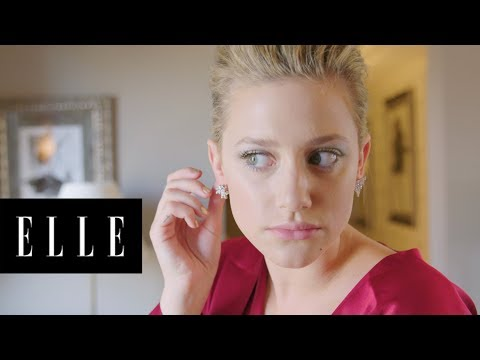 Lili Reinhart Gets Ready for the 2018 Met Gala with ELLE