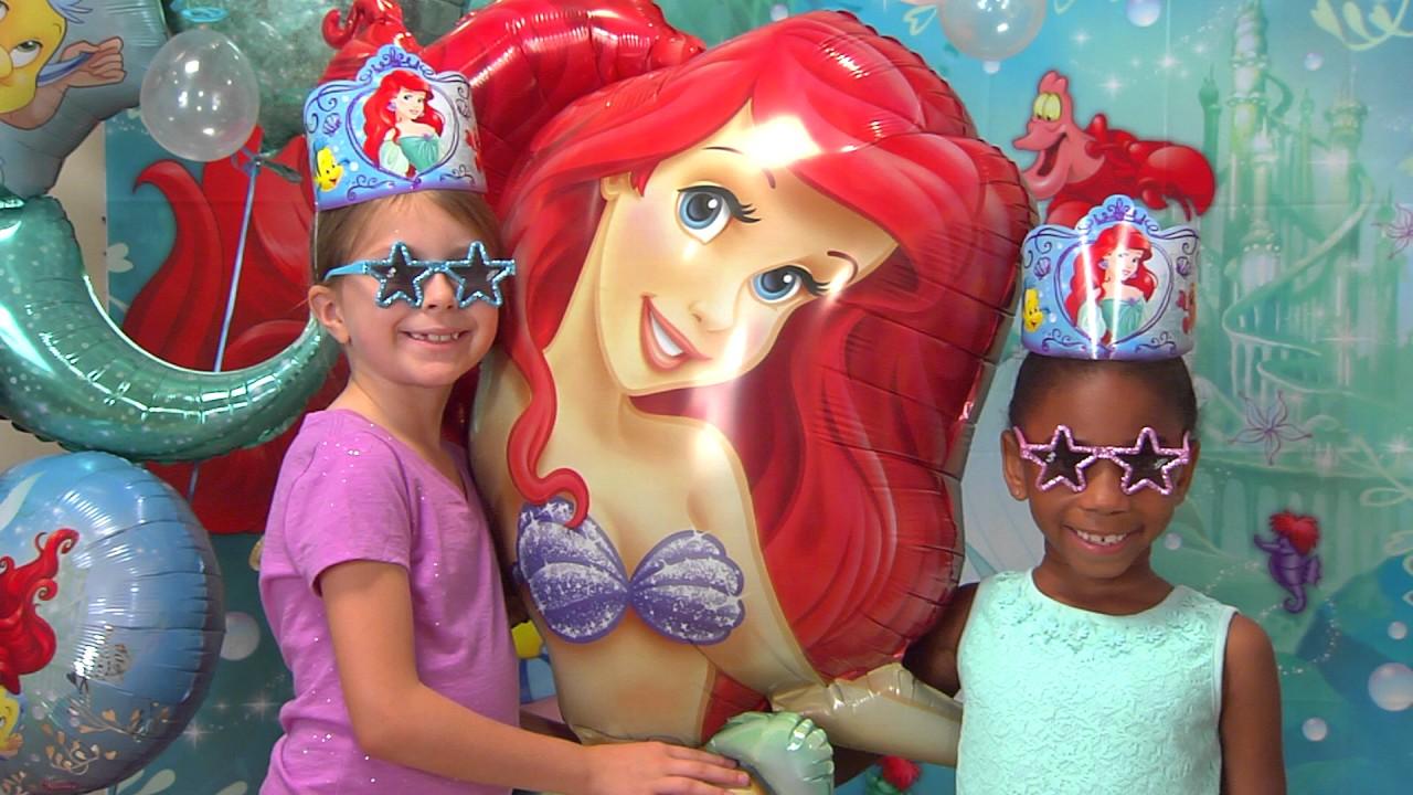 Little Mermaid Party Ideas! - YouTube 1f6edf0d1