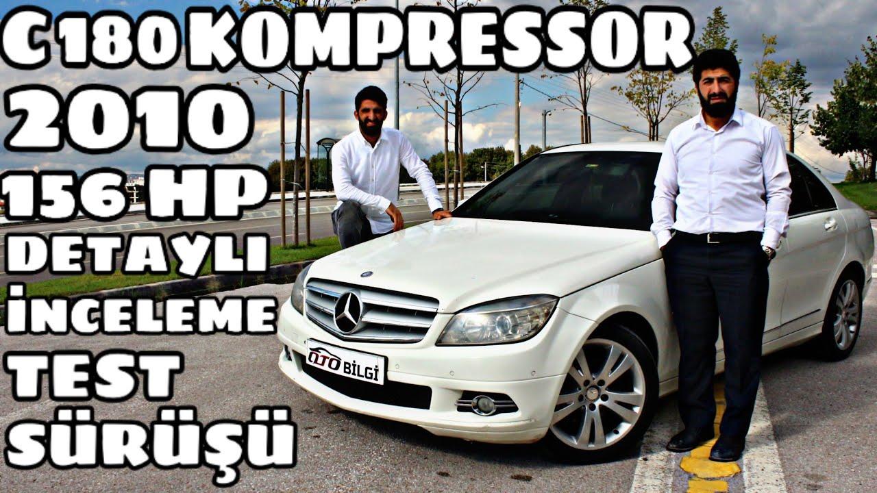 Mercedes C180 Kompressor Test Sürüşü 2010 1.6 156 hp   Oto Bilgi