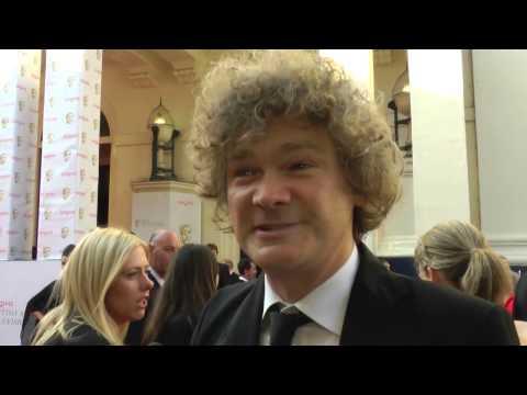 BAFTA TV Awards 2014 Red Carpet Interview - Simon Farnaby