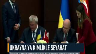 UKRAYNA'YA KİMLİKLE SEYAHAT