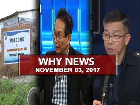 UNTV: Why News (November 03, 2017)