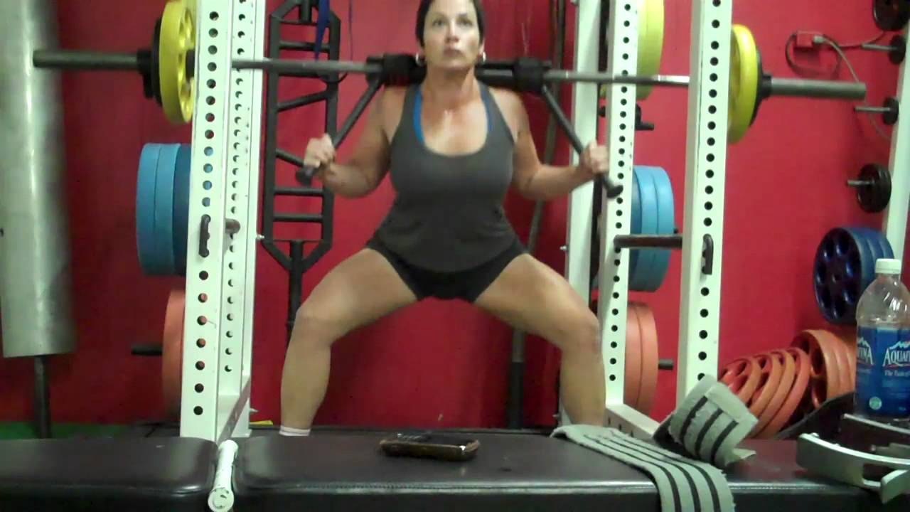 Exceptionnel 7 Weeks Post Op Form Work W Top Squat Bar Attachment Aug 17 11   YouTube