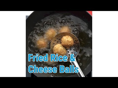 Spice Eats: Fried Rice and Cheese Balls