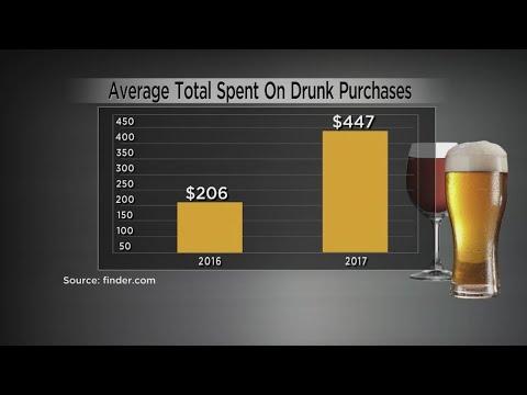 Survey: Millions Of Americans Shop While Drunk