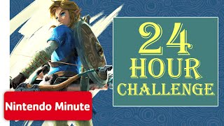 The Legend of Zelda: Breath of the Wild - 24 Hour Survival on Eventide Island