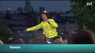 Magnus Uggla-Pom pom LIVE. Allsång på Skansen 2018.