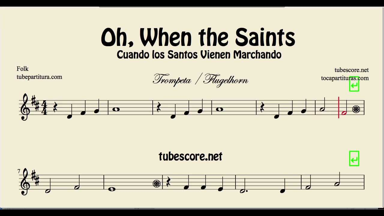 Oh When The Saints