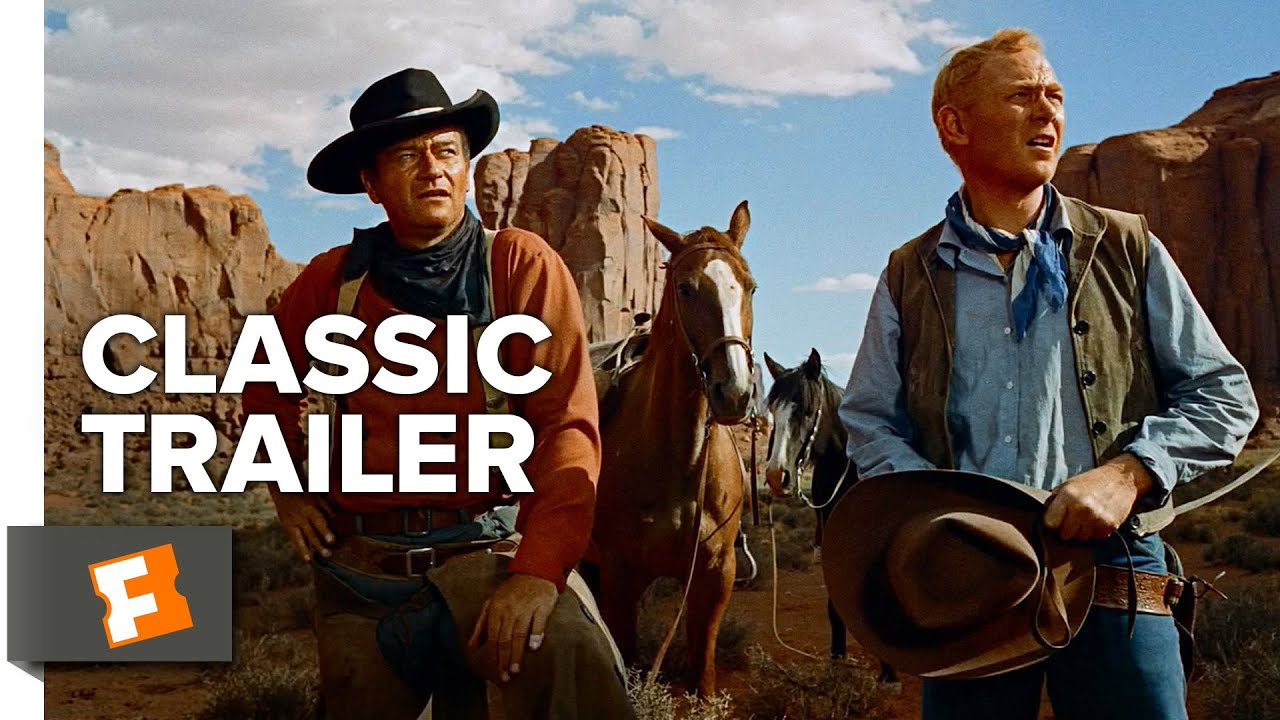 画像: 『捜索者』 予告The Searchers (1956) Official Trailer - John Wayne, Jeffrey Hunter Movie HD youtu.be