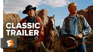 The Searchers (1956) Official Trailer - John Wayne, Jeffrey Hunter Movie HD
