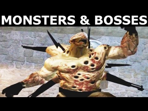 The Suffering - All Monsters & Bosses (No Commentary) (Horror Game)