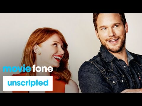 'Jurassic World'  Unscripted  Chris Pratt, Bryce Dallas Howard