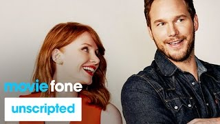 'Jurassic World' | Unscripted | Chris Pratt, Bryce Dallas Howard