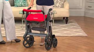 Active Design Rollator with Seat, Large Wheels & Hidden Cables with Kerstin Lindquist