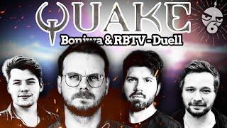 Gebohnstags-Revanche! Eddy & Matteo vs. Leon & Marco | RBTV & @Bonjwa-Quake-Duell