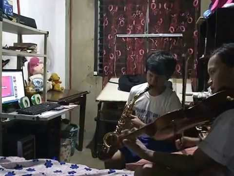 GIVE LOVE ON CHRISTMAS DAY Sax Alto by Jom M. Guiao Violin by Jen M. Guiao