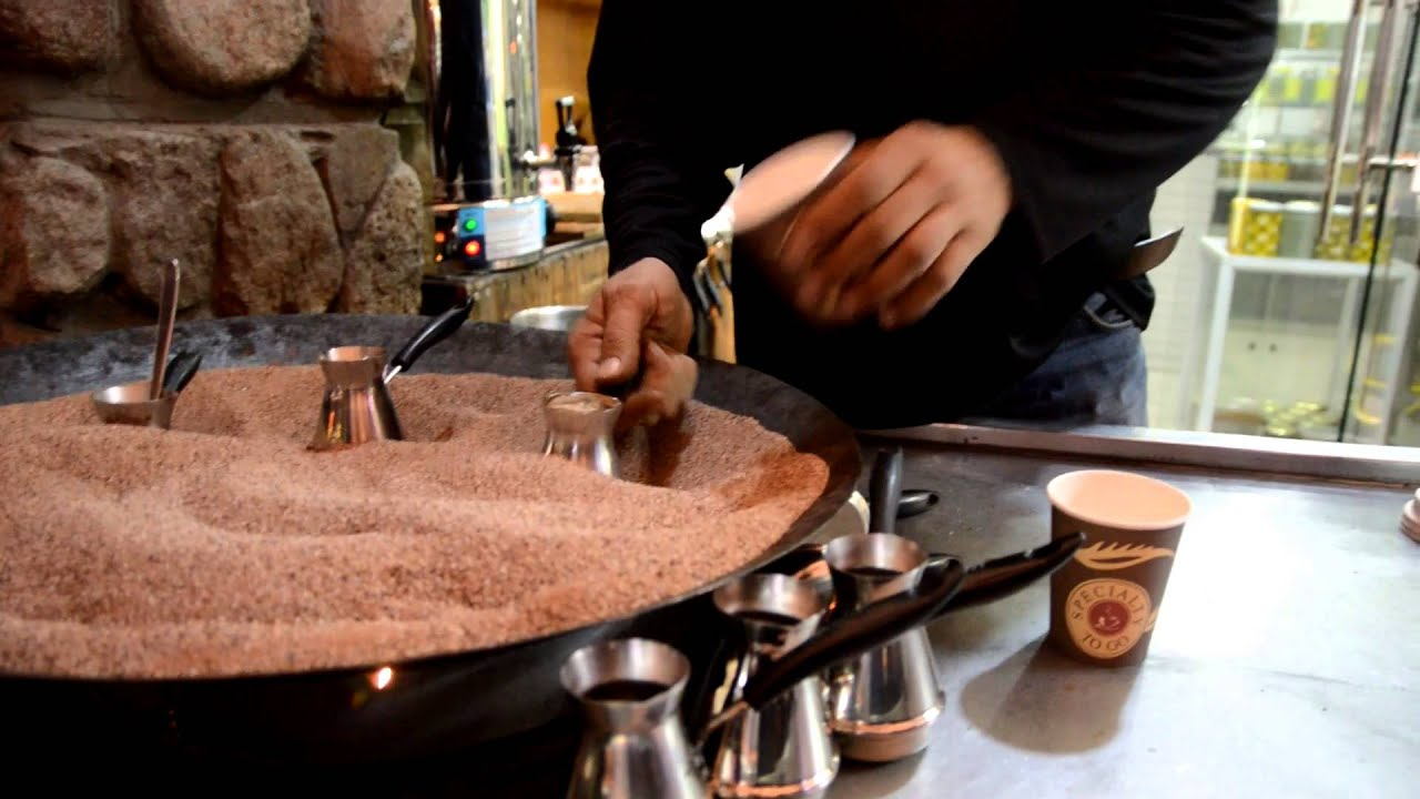 coffee sand machine