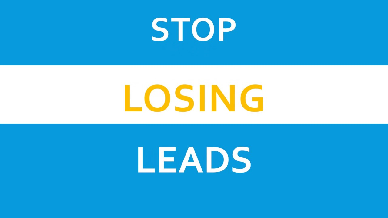 Stop LOSING LEADS FROM LINKS YOU SHARE