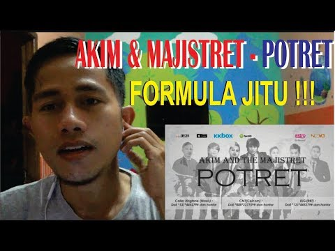 Akim & The Majistret #Potret - Orang Indonesia Mereaksi Lagu Malaysia#23